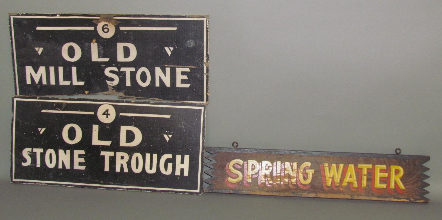 "14/"" x 11/""  Primitive Vintage Reproduction Metal Township Clerk Sign"